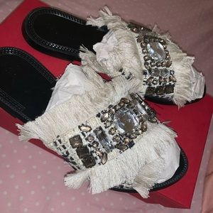 Zara Trafaluc Flat Slippers/Sandal